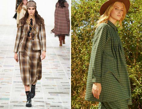 Christian Dior Ekose Takım - HE-QA Kazayağı Desen Takım