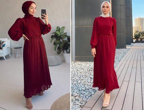 Fuga Design Elbise - (Beyzasu Sever Doruk - Şeyma Kaymak)