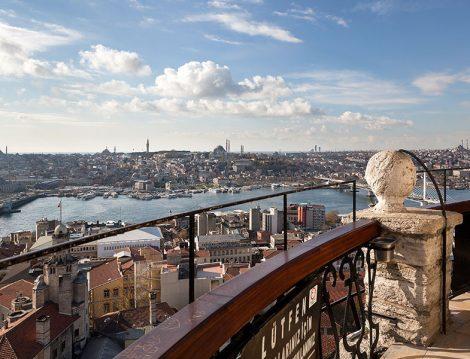 Galata Kulesi Seyir Terası