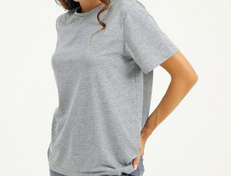 Mettre Gri Basic Tshirt