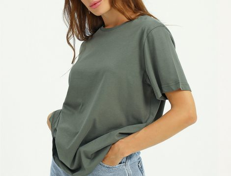 Mettre Haki Basic Tshirt