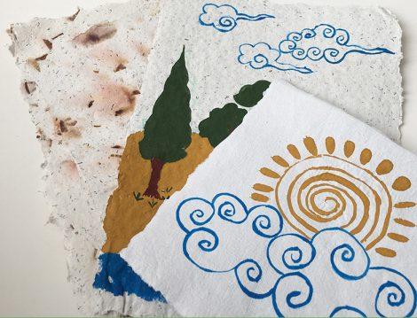 Pera Müzesi Desen Desen Baskı Çocuk Atölyesi