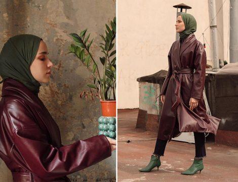 Touche Official Deri Ceket (Meryem Demir)