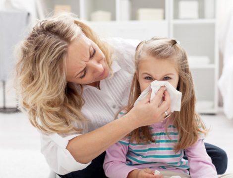 Çocuklarda Sonbahar Alerjisi ve Grip
