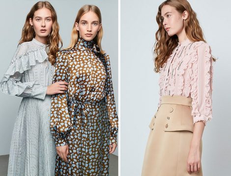 Machka Sonbahar-Kış 2020-2021 Koleksiyonu Elbise ve Etek-Bluz