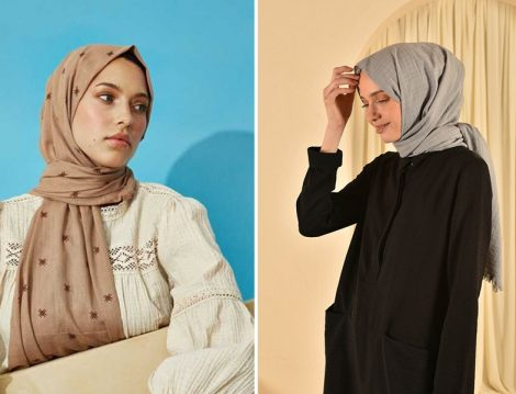 Moda Kaşmir Pamuklu Şal - He-qa Pamuklu Şal