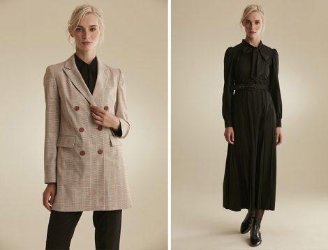 Tuğba Venn 2020-21 Sonbahar Kış Ceket ve Elbise