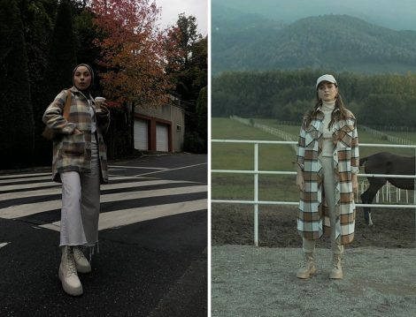 Ekose Ceketler: Manuka (Rumeysa Yağcı) & He-qa