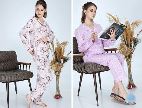 Ladymina Pijama Modern Pijama Takımı