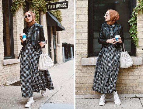 Zara Deri Ceket - Qras Studio Elbise ( Elif Doğan)