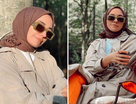 Zara Trençkot - Qooq Up Pantolon - Req Şal (Hülya Aslan)