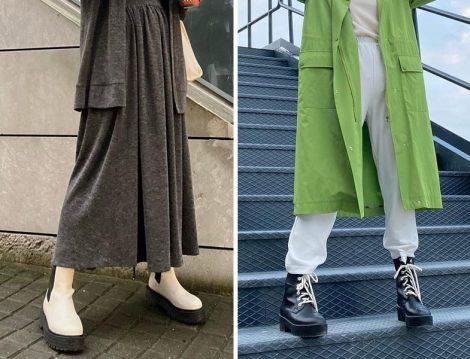 Çizme ile Kıyafet Arasında Kontrast Oluşturmak
