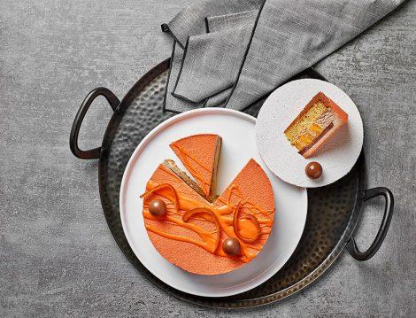 Özsüt Oranjetta Sütlü Çikolatalı Parfe ve Portakal Dilimleri