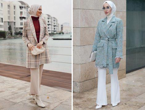 Atolye Hub Desenli Blazer Ceket (Aybükenur Demirci) - Dilara Nazan Ertan Tüvit Ceket