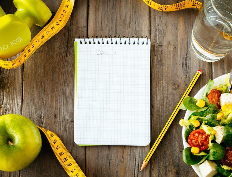 Göbek çevresindeki yağlanmayı azaltmak için örnek diyet listesi