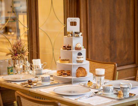 Kandilli Pastanesi Royal Afternoon Tea Box ile 5 Çayı Hazırlıkları