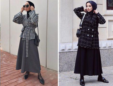 Neslihan Ka Collection Etek-Ceket (Seyda Ateştepe) - Nurnisa Moda Etek-Ceket (Merve Serap)