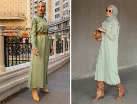 Refka Triko Elbise (Elif Küçüksarı) - Terzi Dükkanı Triko Elbise (Betül Gedik)