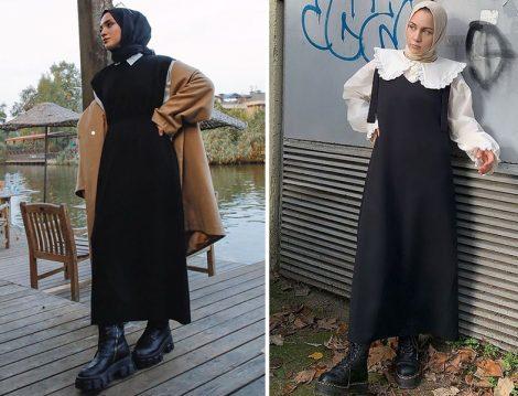 Suud Collection Triko Jile Elbise (Sena Sever)