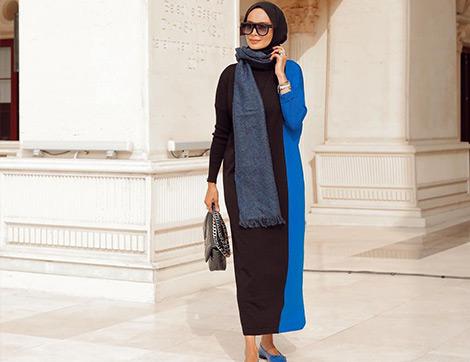 2021 Kışının En İyi 10 Uzun Etek ve Elbise Modeli