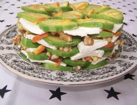 İzmir Tulum Peynirli Kabak Salatası Tarifi
