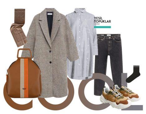 2021 Kışlık Tesettür Giyim Kombinleri