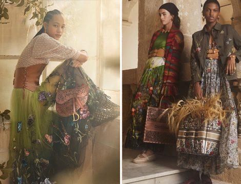 Dior 2021 Çiçekli Etek ve Elbiseler
