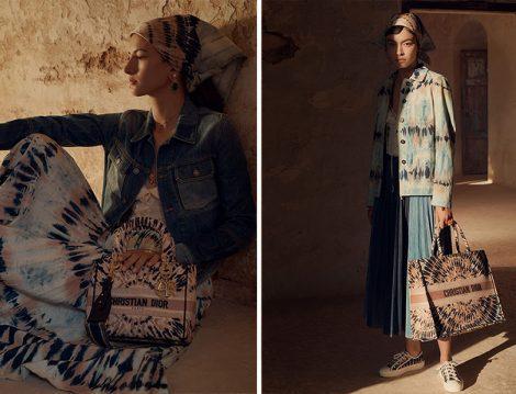 Dior 2021 Batik Etek- Kot Ceket & Pliseli Etek-Batik Ceket