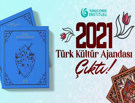 Yunus Emre Enstitüsü 2021 Türk Kültür Ajandası