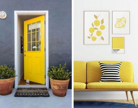 Ultimate Sarı Renkli Dekoratif