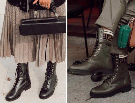 Chanel Siyah Postal Bot - Fendi Postal Bot (Betül Gedik)