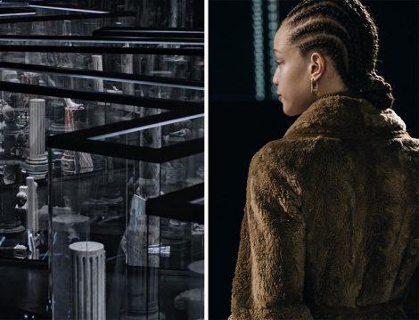 Fendi Milano Moda Haftası Defilesi - Kürk Manto