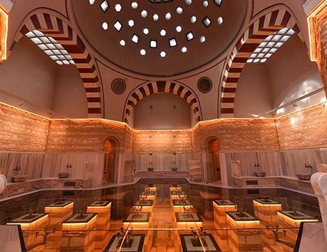 Nevmekan Selimiye ile Tarihi Hamam Millet Kıraathanesine Dönüşüyor