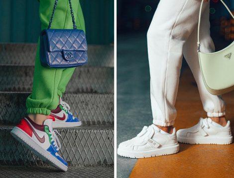 Nike Spor Ayakkabı - Dior Sipor Ayakkabı (Betül Gedik)