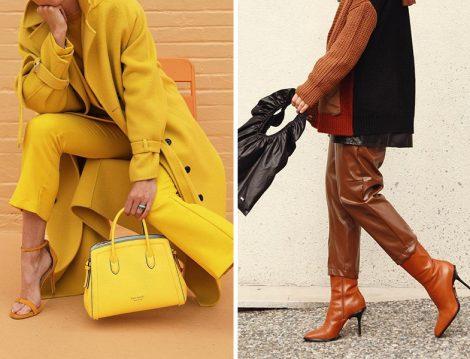 Sarı Kaban-Ceket-Pantolon-Çanta-Ayakkabı ve Deri Pantolon- Topuklu Deri Çizme