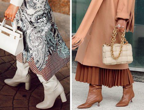 Zara Beyaz Çizme - Max&Co Khve Deri Çizme (Betül Gedik)