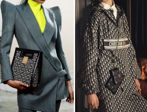 Balmain Ceket-Çanta - Dior Kapüşonlu Sweat-Çanta