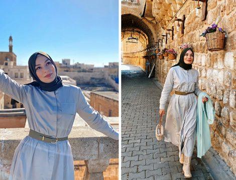 Normcore Elbise - Büşra Karagöz