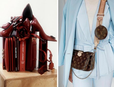 Yves Saint Laurent Ayakkabı ve Louis Vuitton Çanta