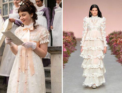 Bridgerton Dizi Kostümü - Zimmerman Elbise