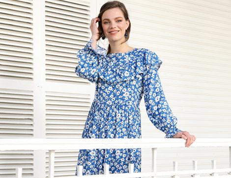 Şimdi Dene: Mevsiminde Açan Çiçekli Elbiseler