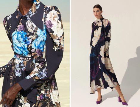 Pelin Yıldırım Atelier ve Baqa Çiçekli Elbise