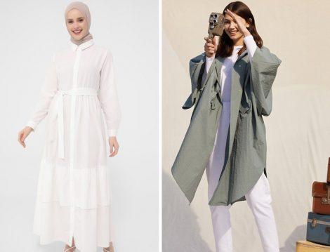 Refka Beyaz Elbise - Trençkot