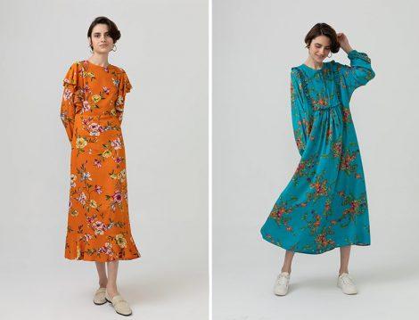Touche Çiçekli Elbise
