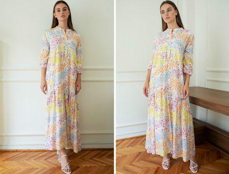 Venöve Çiçekli Elbise