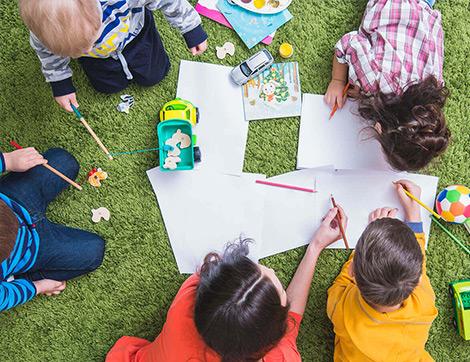 Farklı Yaş Grubundan Çocuk ve Gençlere Yönelik Hafta Sonu Sanat Atölyeleri