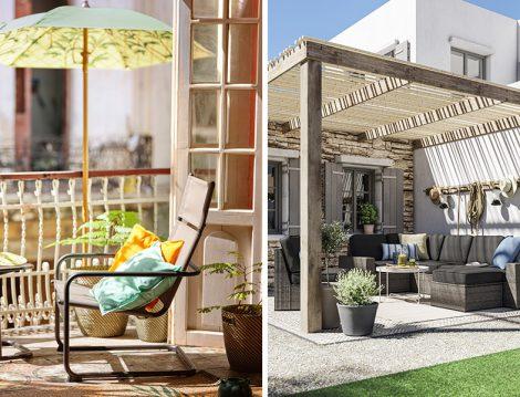 IKEA Bahçe ve Balkon Dekorasyonu