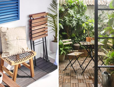 IKEA Katlanabilir Masa Sandalye