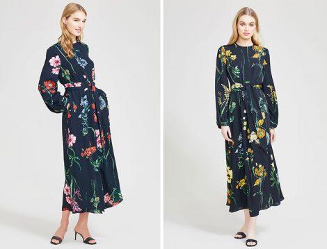 Lela Rose Çiçekli Elbiseler