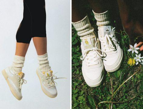 Reebok x Danielle Guizio Club C 85 Spor Ayakkabı